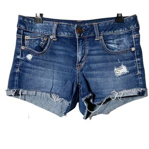 American Eagle Outfitters Shorts Jeans Blue Sz 10